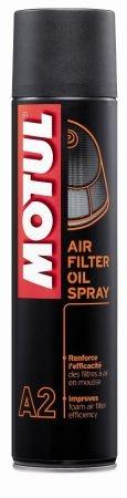 Spray filtru aer si filtru ulei moto MOTUL AIR FILTER SPRAY 0,4l [0]
