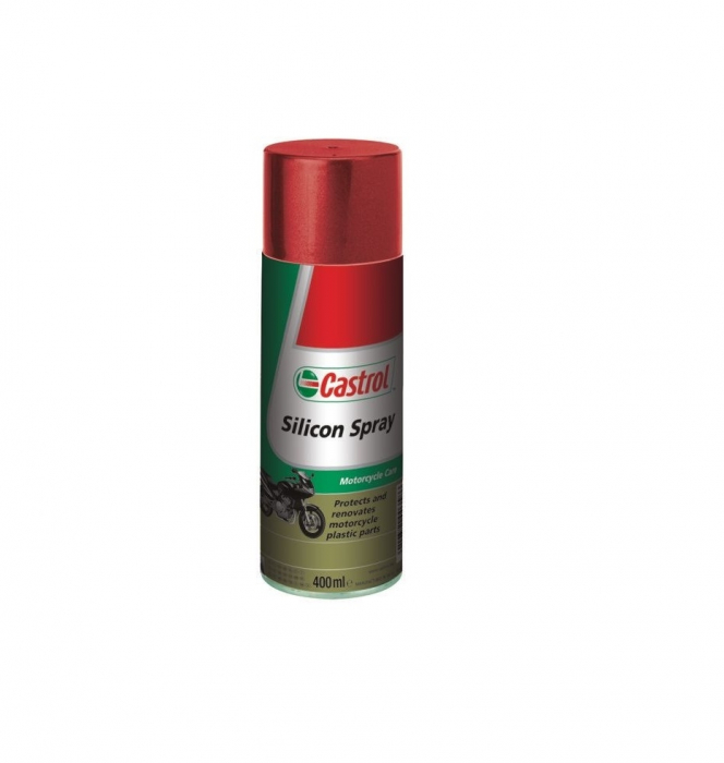 Spray silicon moto, Castrol, 400ml 0