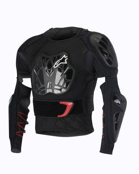 Tricou cu protectie ALPINESTARS MX BIONIC TECH Geaca culoare negru/rosu/alb, marime S 0