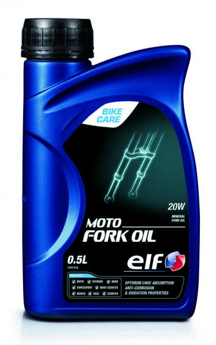 Ulei amortizor ELF Moto Fork Oil SAE 20W 0,5l 0
