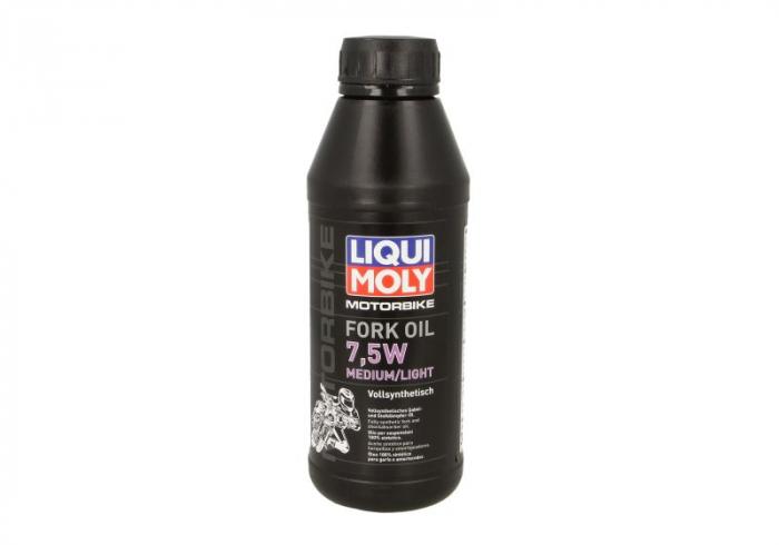 Ulei amortizor LIQUI MOLY Fork Oil SAE 7,5W 0,5l sintetic 0