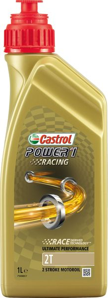 Ulei moto 2T CASTROL Power 1 Racing 1l TC ISO-L-EGD; JASO FD sintetic 0