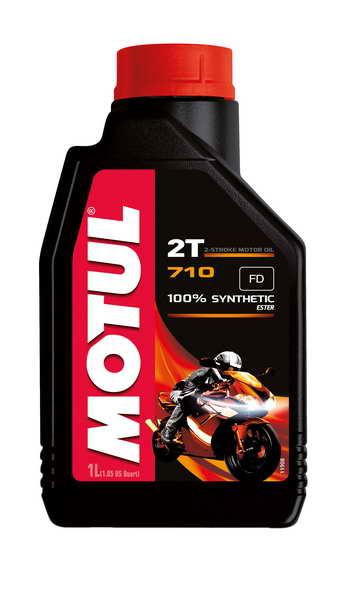 Ulei moto 2T MOTUL 710 1l TC JASO FD ester sintetic 0