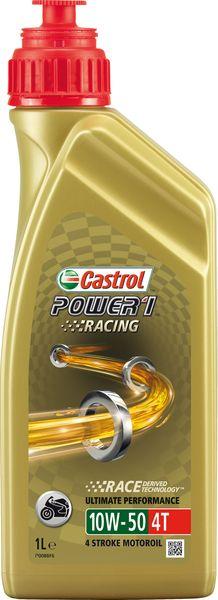 Ulei moto 4T CASTROL Power 1 Racing SAE 10W50 1l SL JASO MA-2 sintetic 0