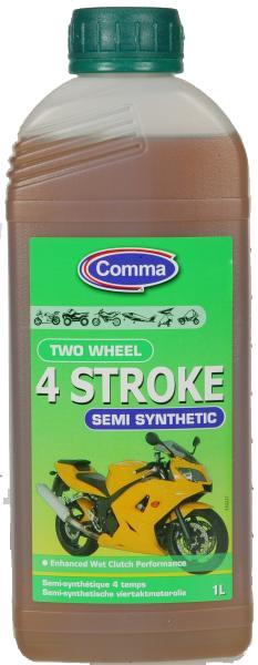 Ulei moto 4T Comma TWO WHEEL 4 ST 1L 0