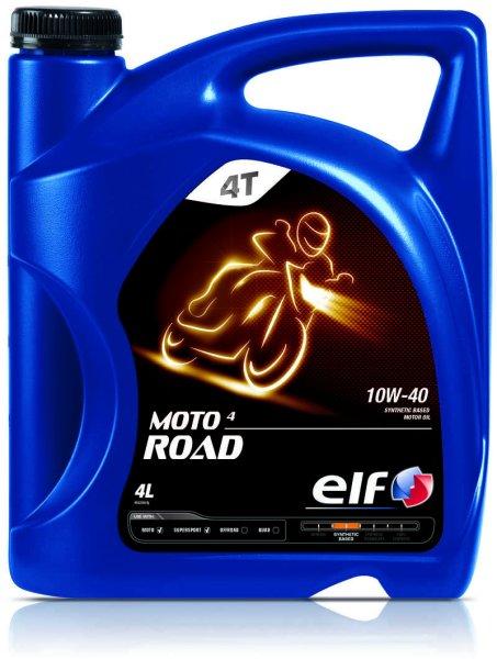 Ulei moto 4T ELF Moto 4 Road SAE 10W40 4l SJ JASO MA-2 semi-sintetic 0