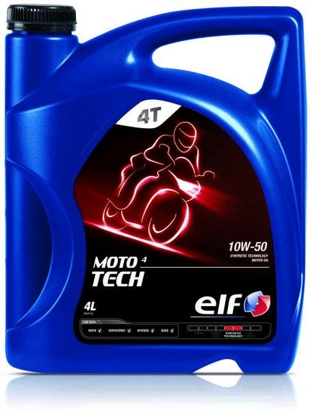 Ulei moto 4T ELF Moto 4 Tech SAE 10W50 4l SL JASO MA-2 0
