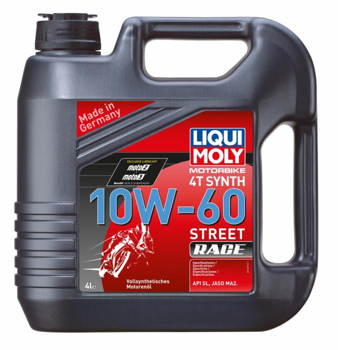 Ulei moto 4T Liqui Moly 10W60 RACE 4L [0]