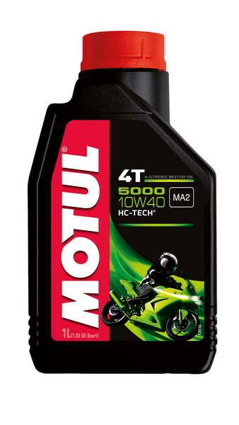 Ulei moto 4T MOTUL 5000 SAE 10W40 1l SL JASO MA-2 semi-sintetic [0]