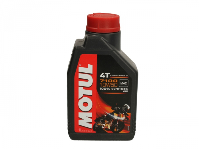 Ulei moto 4T MOTUL 7100 SAE 10W50 1l SN JASO MA-2 ester sintetic [0]