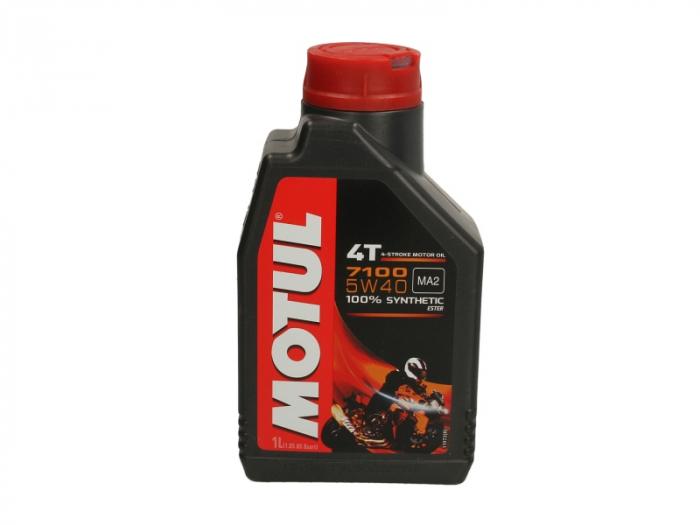 Ulei moto 4T MOTUL 7100 SAE 5W40 1l SN JASO MA-2 ester sintetic [0]