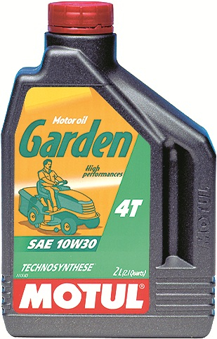 Ulei moto 4T MOTUL Garden SAE 10W30 2l CF; SH; SJ pentru cositoare si alte echipamente de gradina 0