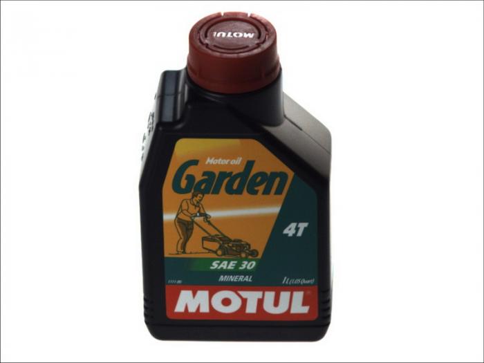 Ulei moto 4T MOTUL Garden SAE 30 1l CD; SG pentru cositoare si alte echipamente de gradina 0