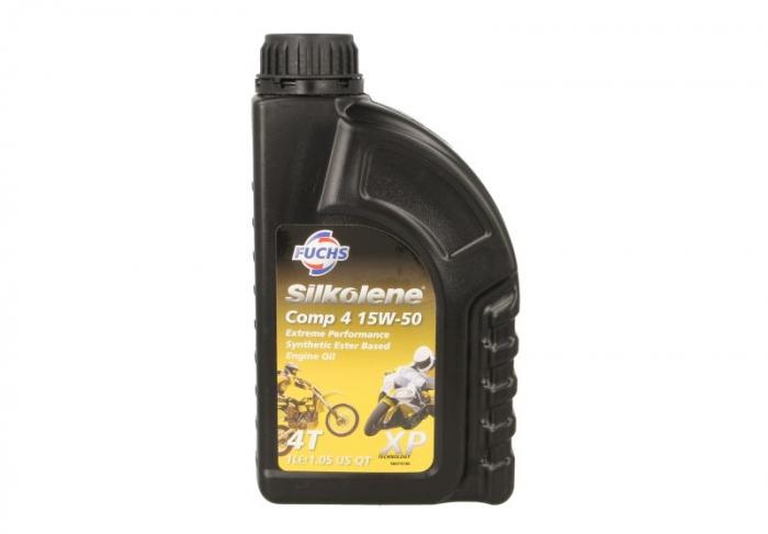Ulei moto 4T Silkolene COMP 4 15W-50 - XP 1L [0]
