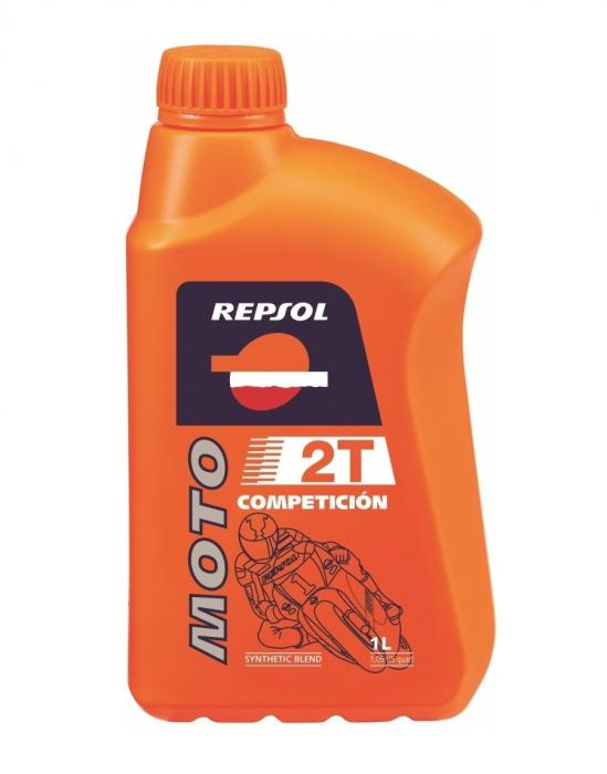 Ulei moto Competicion 2T 1L, Repsol [0]