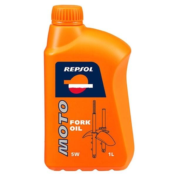 Ulei moto furca Fork Oil 5W 1L, Repsol 0