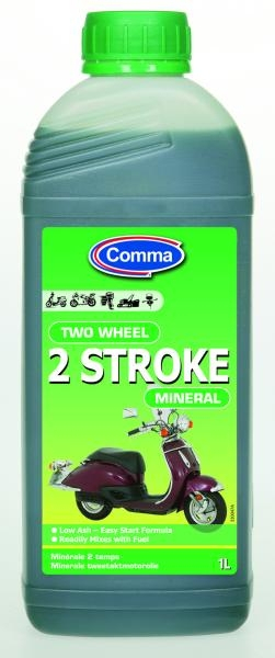 Ulei moto mineral Comma Two Wheel 2 ST, 1 litru [0]