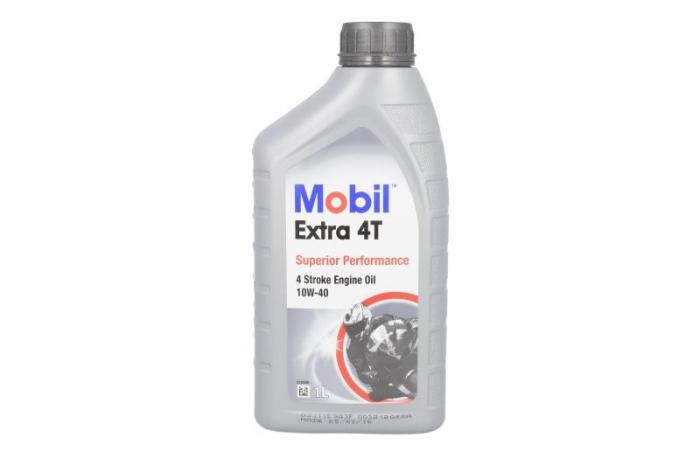 Ulei moto MOBIL 1 EXTRA 4T 10W40 1 Litru [0]