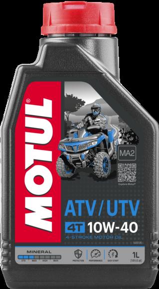 Ulei moto mineral MOTUL ATV UTV 4T 10W40 1L 0