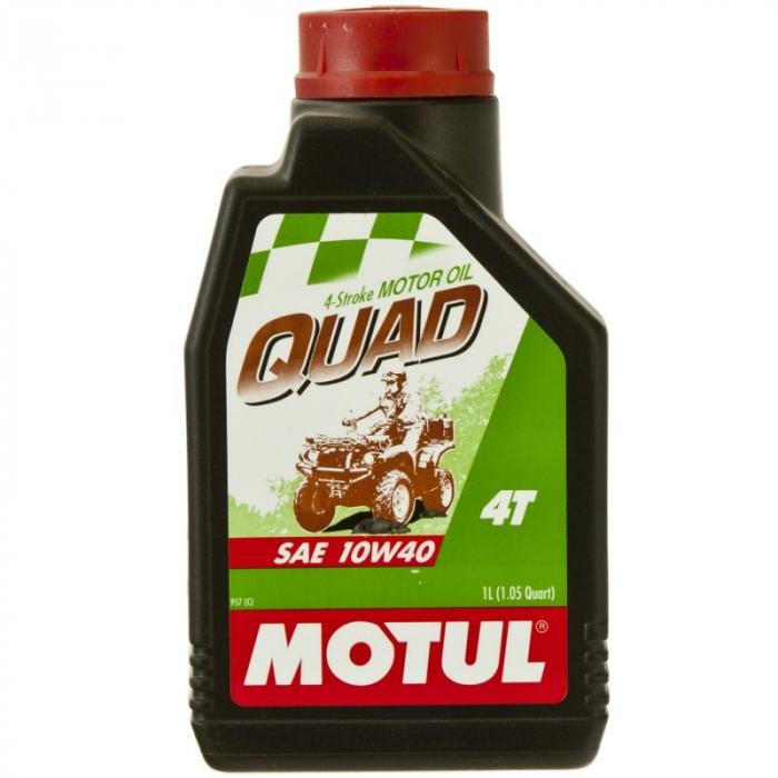 Ulei moto Quad 4T 10W40 1L, Motul 0