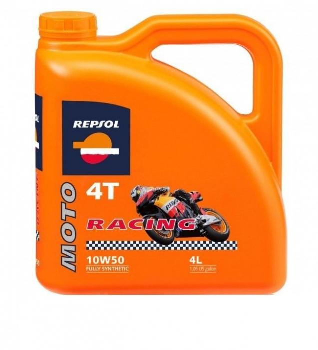 Ulei moto Racing 4T 10W50 4L, Repsol [0]