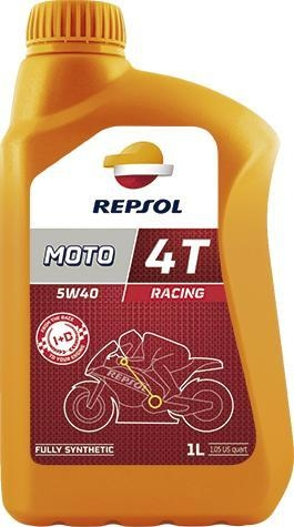 Ulei moto Racing 4T 5W40 1L, Repsol 0