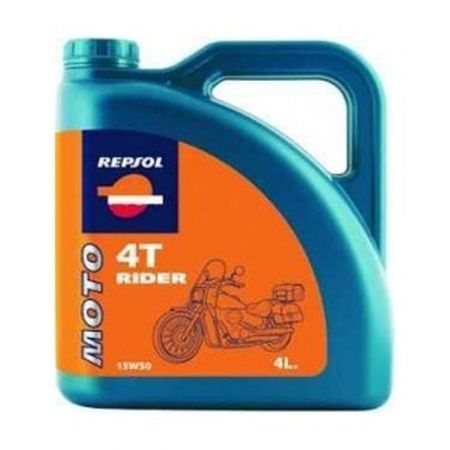 Ulei moto Rider 4T 15W50 4L, Repsol [0]