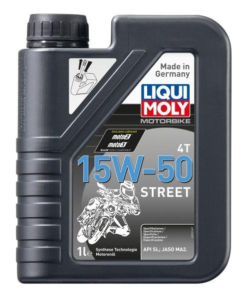 Ulei Moto sintetic LIQUI MOLY 4T STREET 15W50 1 Litru 0