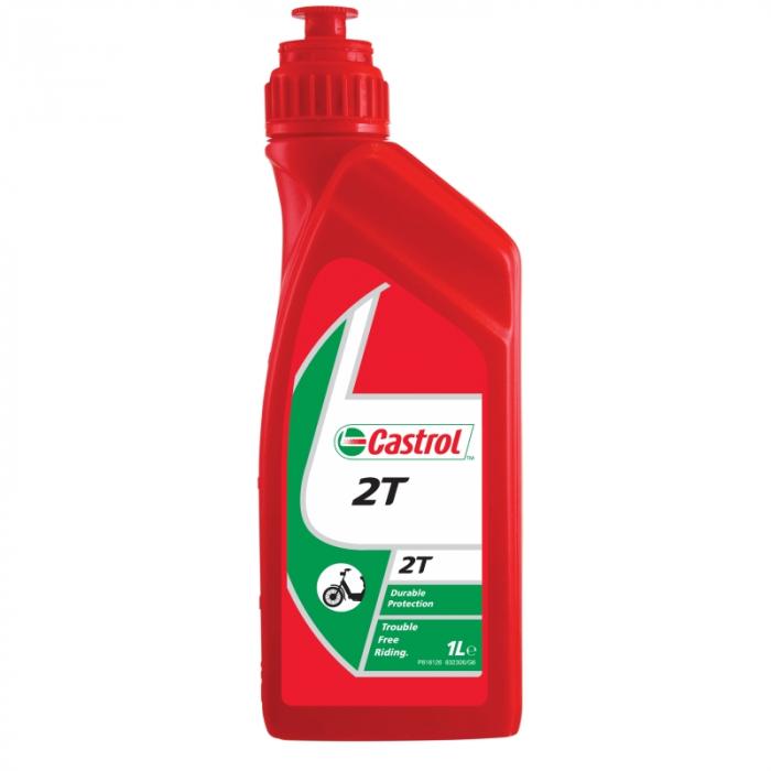 Ulei motor mineral scuter Castrol 2T, 1 litru [0]