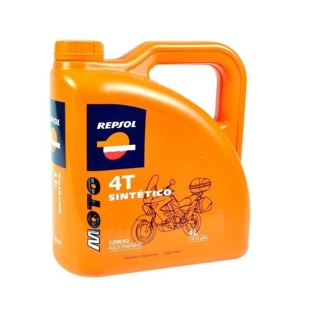 Ulei Repsol, Moto Sintetico 4T, 10W40, 4L [0]