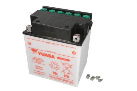 Baterie moto Acid/cu intretinere YUASA 12V 30Ah 300A R+ aerisire dreapta 168x132x192 Incarcare uscata fara acid