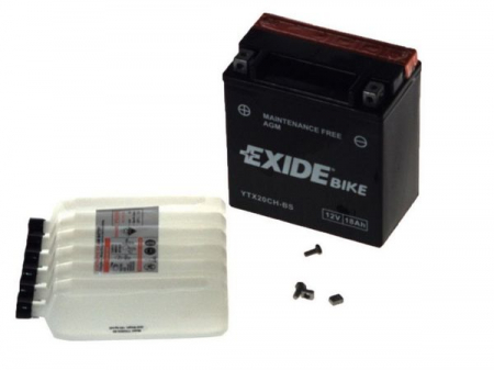 Baterie moto AGM/fara intretinere EXIDE 12V 18Ah 230A L+ 150x87x161 Incarcare uscata cu acid