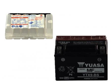 Baterie moto AGM/fara intretinere YUASA 12V 8Ah 135A L+ 150x87x105 Incarcare uscata cu acid
