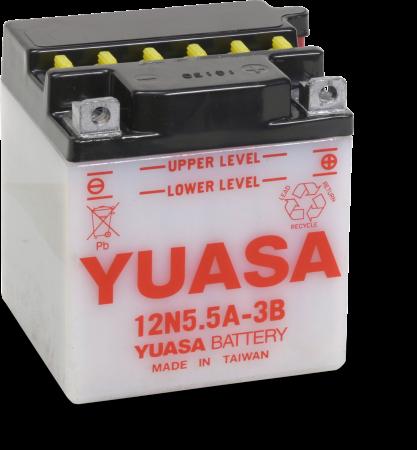 Baterie moto cu intretinere YUASA 5,5Ah 58A 103x90x114