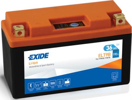 Baterie moto Lithium-ion/fara intretinere EXIDE 12V 36Wh 190A L+ 150x65x92
