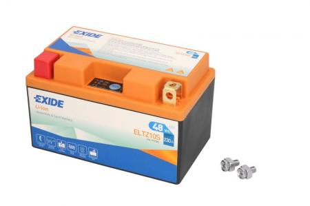 Baterie moto Lithium-ion/fara intretinere EXIDE 12V 48Wh 230A L+ 150x87x93