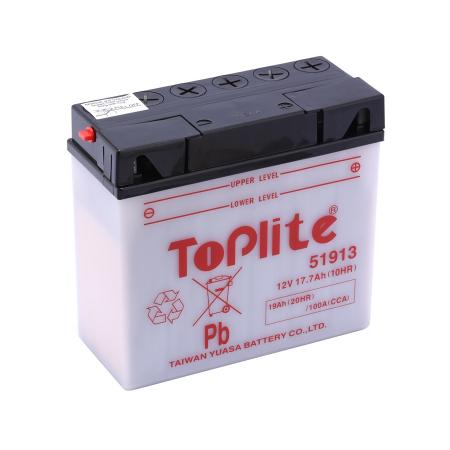 Baterie Toplite Yuasa - BMW 51913 19AH (cu intretinere, nu include acid)