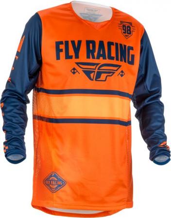 Bluza off-road FLY RACING KINETIC ERA culoare portocaliu, marime XL