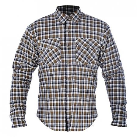 Camasa KICKBACK OXFORD culoare khaki/alb, marime XL
