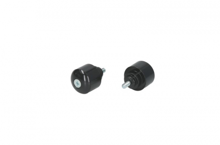Capete ghidon culoare negru (aluminiu) HONDA CB, CBF, CBR, VFR, VTR 250-1300 dupa 1969