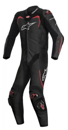 Combinezon GP PRO TECH-AIR ALPINESTARS culoare negru/rosu, marime 48