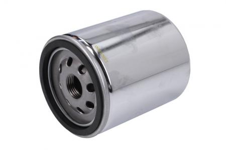 Filtru ulei moto crom filtet de 17mm HARLEY DAVIDSON Hiflo HF171CRC