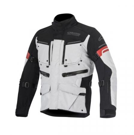 Geaca textil ALPINESTARS VALPARAISO 2 culoare negru/gri/rosu, marime L