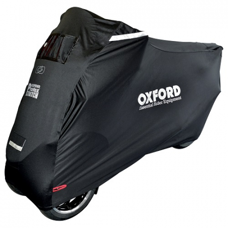 Husa protectie motocicleta OXFORD PROTEX STRETCH Outdoor CV1 culoare negru- rezistenta la apa - Copie
