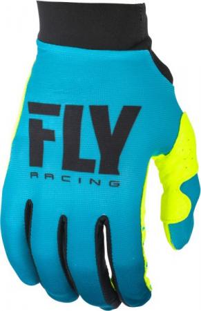 Manusi cross/enduro FLY RACING Women's Pro Lite culoare albastru/fluorescent/galben, marime 8