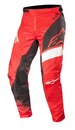 Pantaloni cross/enduro ALPINESTARS MX RACER SUPERMATIC culoare negru/rosu/alb, marime 34