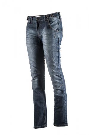 Pantaloni jeans ADRENALINE SLIM LADY 2.0 culoare albastru, marime S