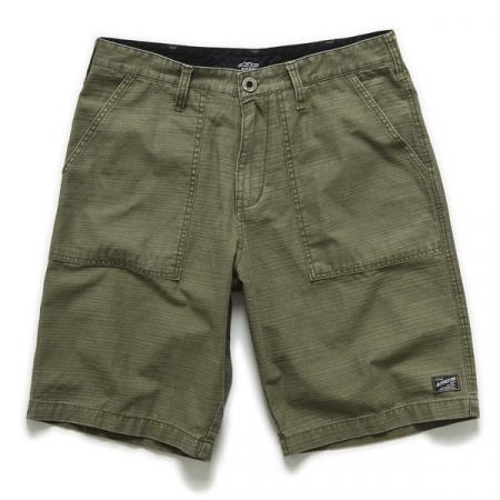 Pantaloni scurti RANK & FILE ARMY ALPINESTARS culoare verde, marime 36