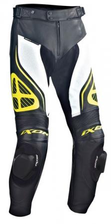 Pantaloni sport IXON ORCUS culoare negru/alb/galben, marime L