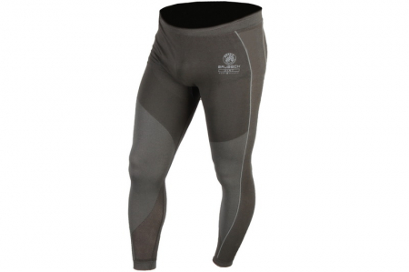 Pantaloni termoactiv BRUBECK BRUBECK DIRT culoare negru, marime S